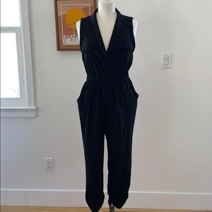Sparkle and fade utility jumpsuit